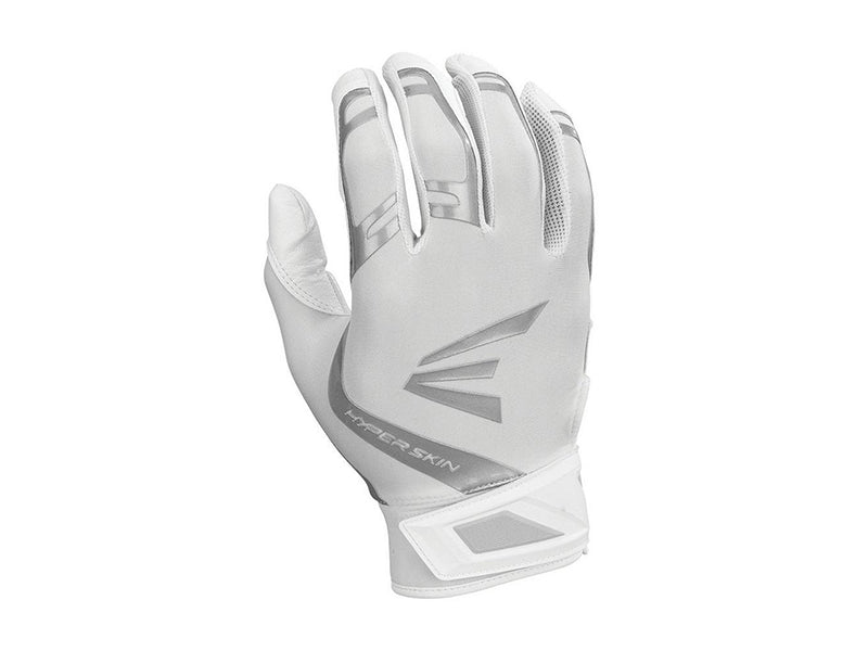 Easton Women's ZF7 VRS Hyperskin Fastpitch Batting Gloves White