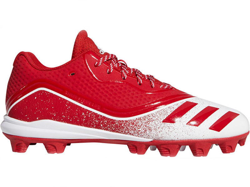 Adidas Men's Icon V MD Molded Cleats Low Red (G28287)