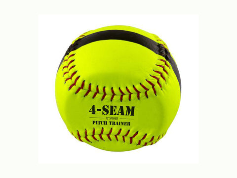 Bownet 4-Seam Flat Spinner-Pitch Training Ball