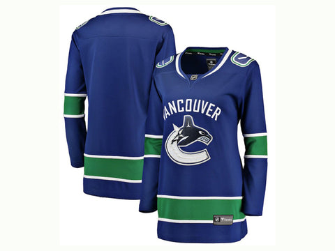 Fanatics Women's Canucks Away Jersey