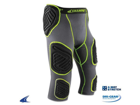 Champro Bull Rush 7 Piece Football Girdle - Youth 1a5b395da4