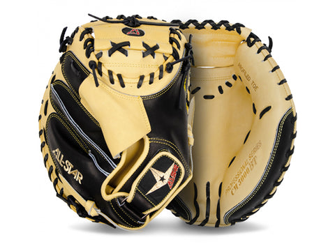 "All-Star PRO ELITE CM3000SBT 33.5"" Catcher's Mitt (TAN)"