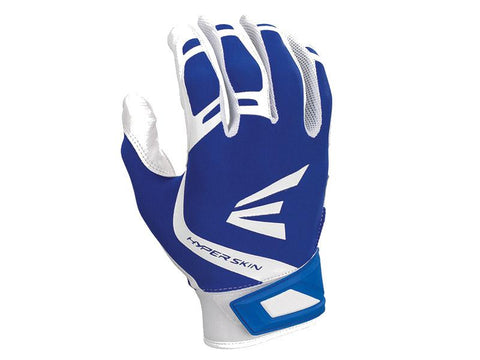 Easton ZF7 VRS Hyperskin Fastpitch Batting Gloves Royal