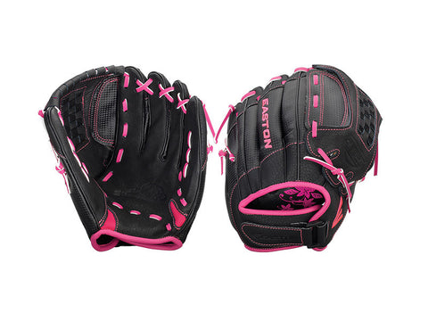 "Easton Z-Flex ZFXFP 1000BKPK 10"" Youth Fastpitch Glove"