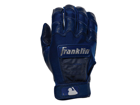 Franklin CFX Pro Full Colour Chrome Series Batting Gloves Navy