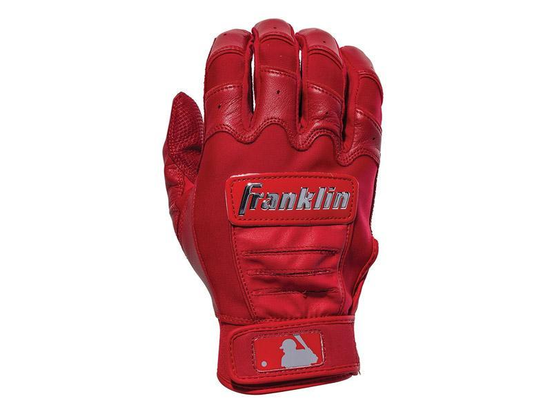 Franklin CFX Pro Chrome Batting Glove Red