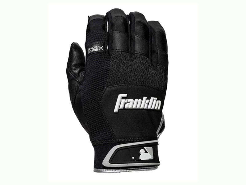 Franklin Shok-Sorb X Batting Gloves Black