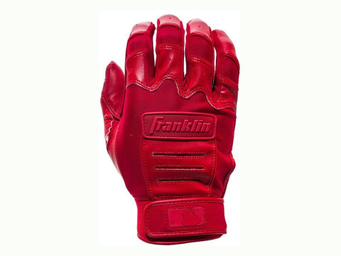 Franklin Women's CFX Fastpitch Batting Gloves Red