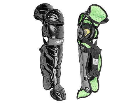 "All-Star S7 AXIS Pro 14.5"" Catcher's Leg Guards- 12-16"