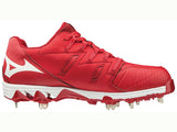 Mizuno Women's Swift 6 Metal Cleat Red