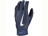 Nike Youth Alpha Huarache Edge Batting Gloves Navy