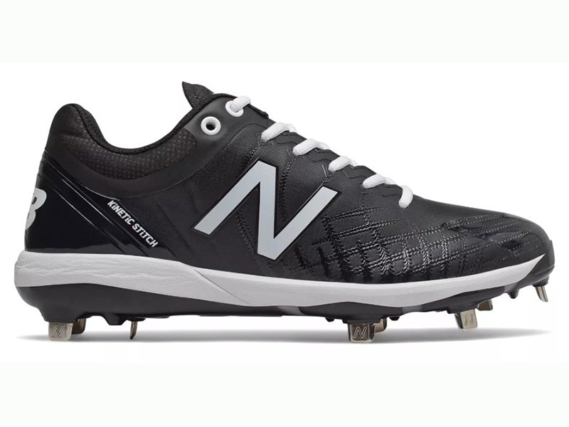 New Balance Men's L4040v5 Metal Cleats Low Black (L4040BK5)