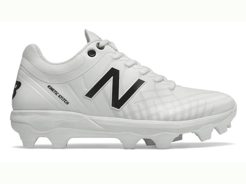New Balance Men's PL4040v5 Molded Cleats Low White (PL4040W5)