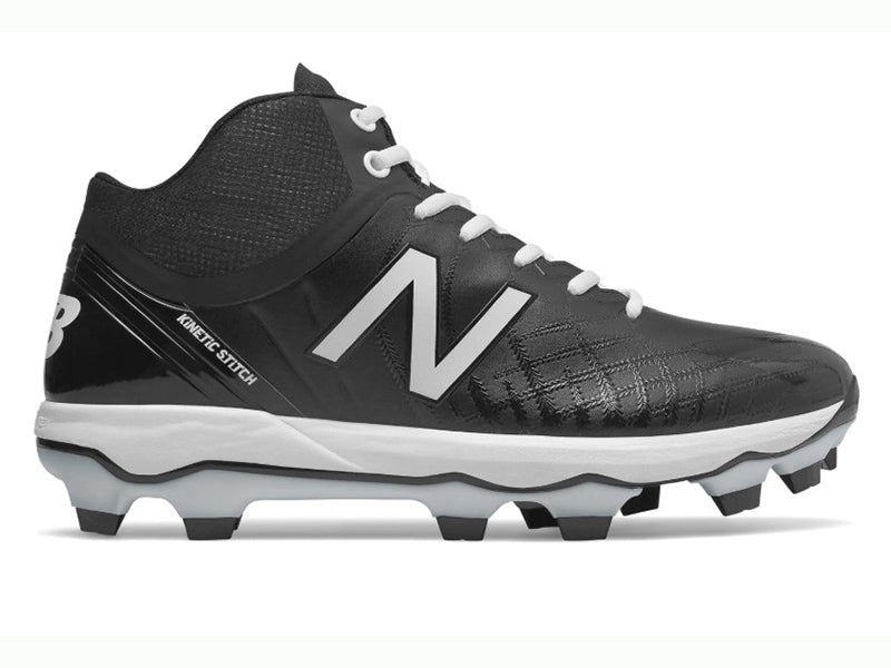 New Balance Men's PM4040v5 Molded Cleats Mid TPU Black (PM4040K5)