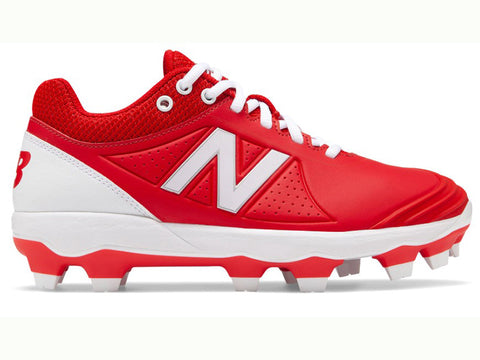 New Balance Women's Fuse v2 TPU Molded Cleat Red  (SPFUSER2)