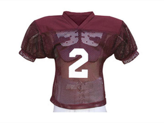 Youth Football Practice Jersey Solid Shoulder