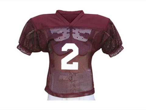 Football Practice Jersey Solid Shoulder