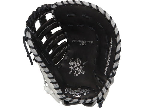 "Rawlings Heart of the Hide Softball PROFM19SB-17BW 13"" Fastpitch First Base Mitt"