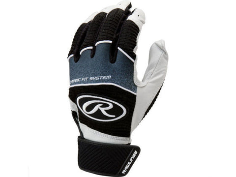 Rawlings Workhorse Youth Batting Gloves Black