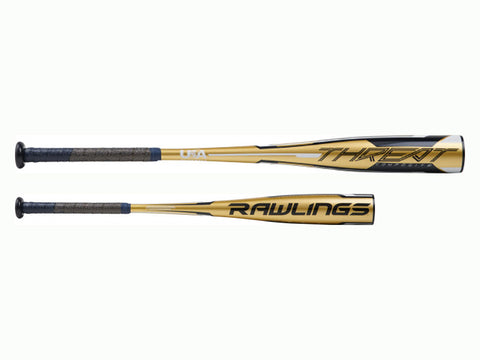 "Rawlings Threat -12 (2 5/8"") USA Baseball Bat"