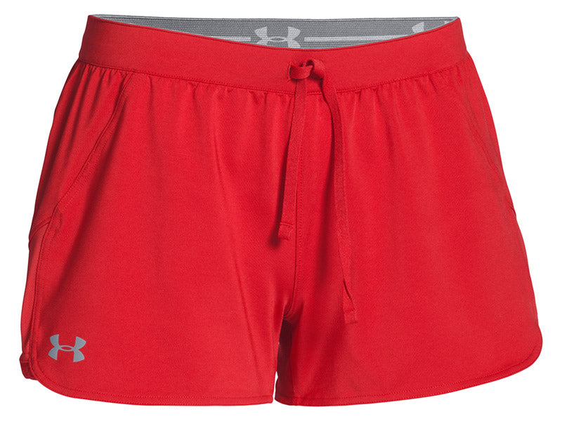 Under Armour Women's Game Time Short Red