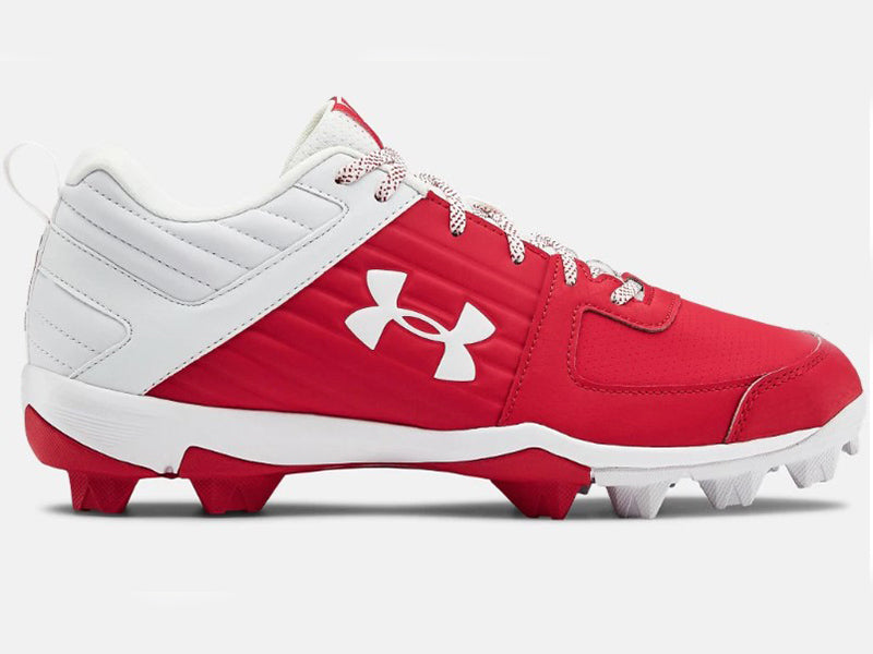 Under Armour Men's Leadoff Low RM Molded Cleats Red/White (3022071)