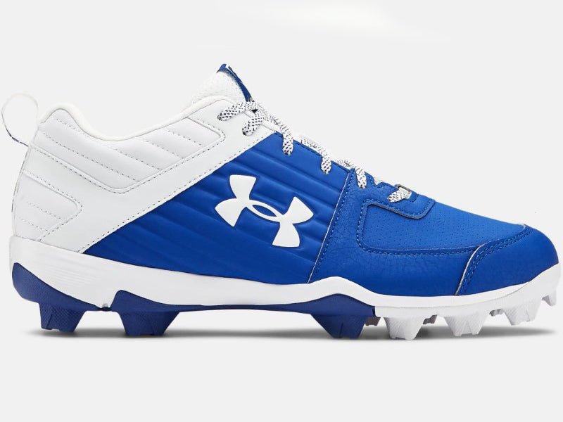 Under Armour Men's Leadoff Low RM Molded Cleats Royal/White (3022071)