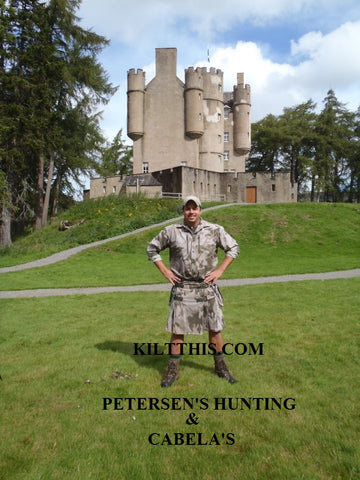 Cabela's Peterson Hunting Kilt This collaboration