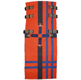 Interchangeable Utility Kilt Front Panel Orange with Blue Cross