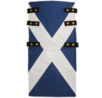 Royal Blue Canvas Snap Utility Kilt plus St Andrews Flag Apron Set