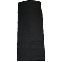 Interchangeable Utility Kilt Front Panel Black Canvas Hiker Design
