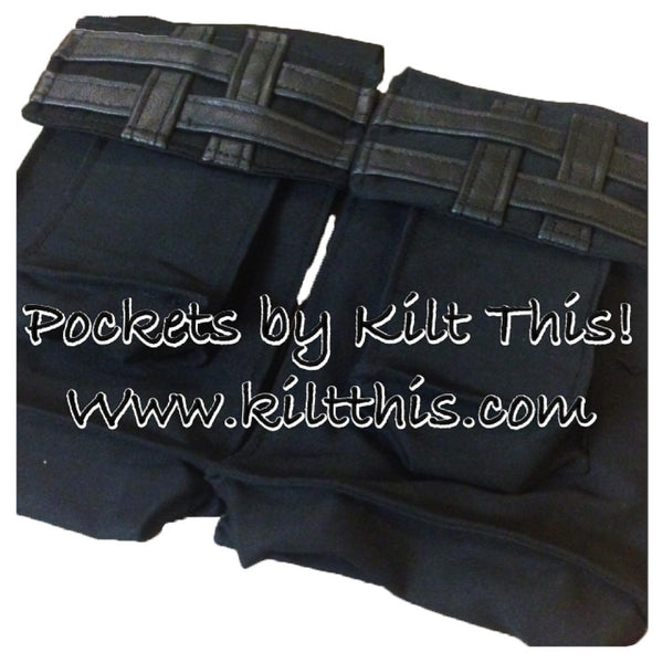 Add Extra Cargo Pockets with Double Cross Pocket Tops