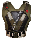 Simple Bane Inspired Military Vest with Belt created by Kilt This!
