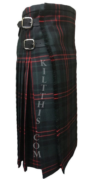 Simple Any Tartan Traditional Style Wool Kilt Custom Fit Handcrafted in the USA