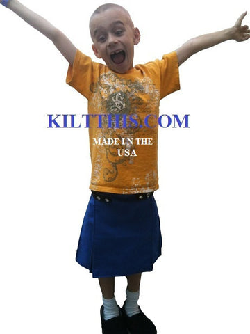 Interchangeable Utility Kilt - Kids - child - Adjustable