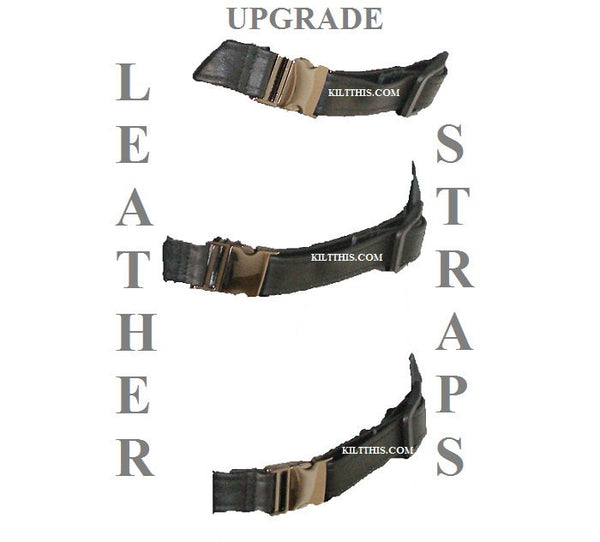 Upgrade to Leather Straps