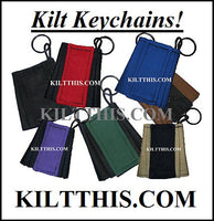 Handcrafted Utility Kilt Key Chain made by Kilt This