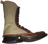 Boot Covers - Brown Leather