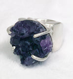 Amethyst & Sterling Ring
