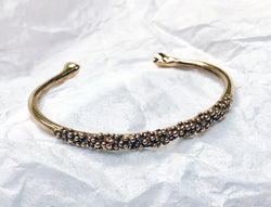 Beach Bubble Bracelet, Round - Rose Bronze