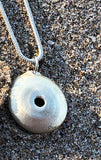 Perfect Puka Pendant Necklace - Sterling Silver