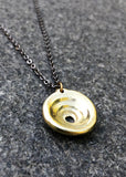 Perfect Puka Pendant Necklace - Non-Tarnish Brass