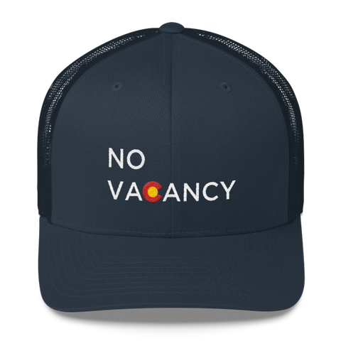 No Vacancy Colorado Cap