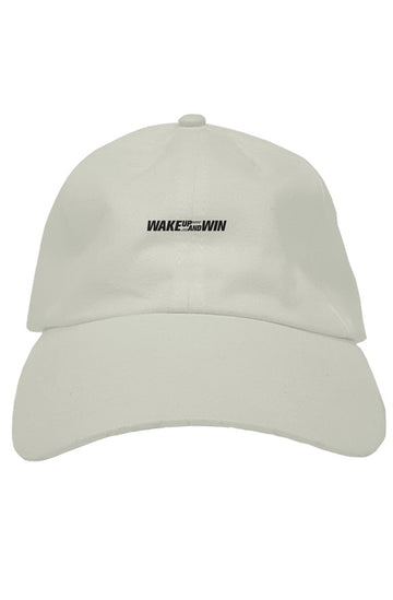 Wake Up And Win (Dad Hat)