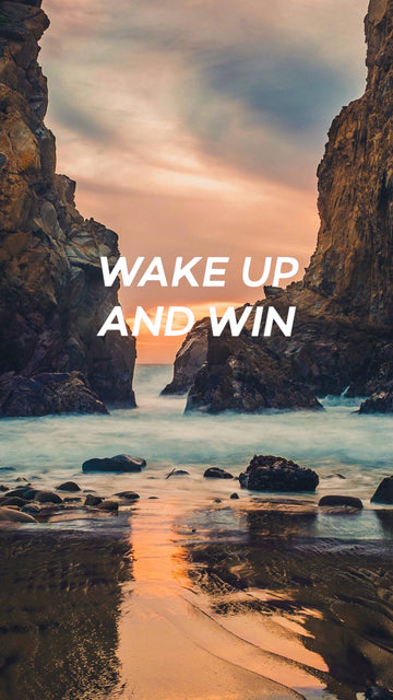 Wake Up And Win Wallpaper (August)