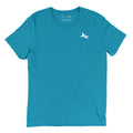 REVIVE LOGO MOTTO TEE (AQUA)