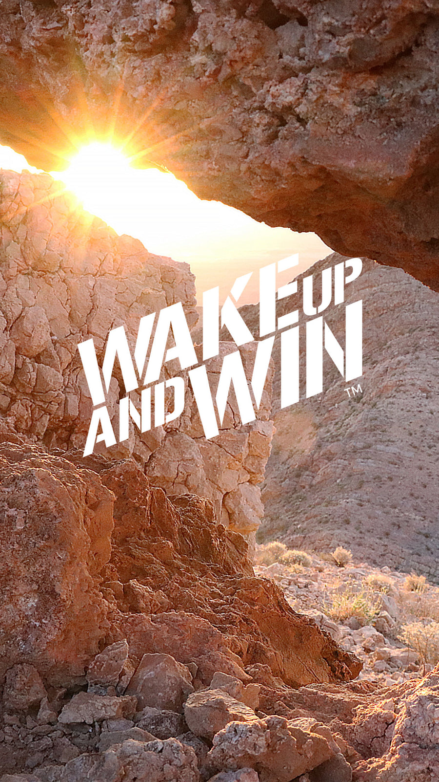 The Light Wake Up And Win Wallpaper