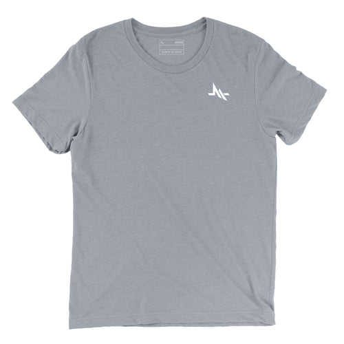 REVIVE LOGO MOTTO TEE (GRAY)