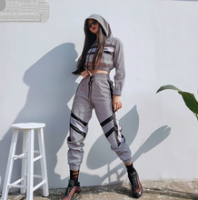 Fabulous Reflective Blouse and Pant Sweat Suit Set - Bella LaVie Collection