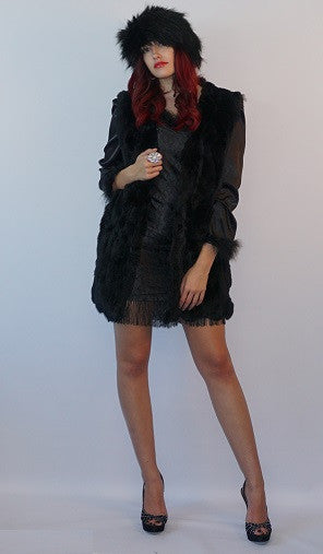 Genuine Premium  Fur Vest with Side Pockets - Fall/Winter - Bella LaVie Collection